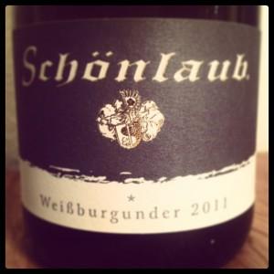 Schönlaub Weißburgunder 2011
