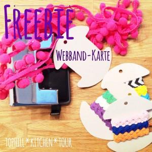 Webbandkarte Freebie