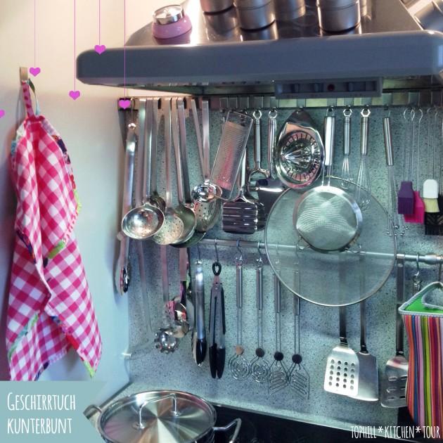 Kunterbunte Küche