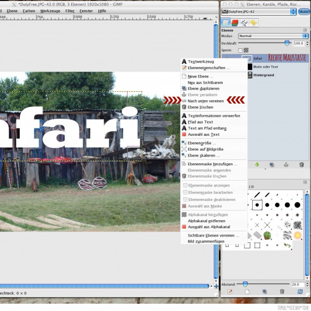 GIMP Tutorial 1