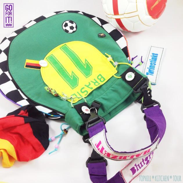 Taschenspieler Tropfen-Fan-Tasche