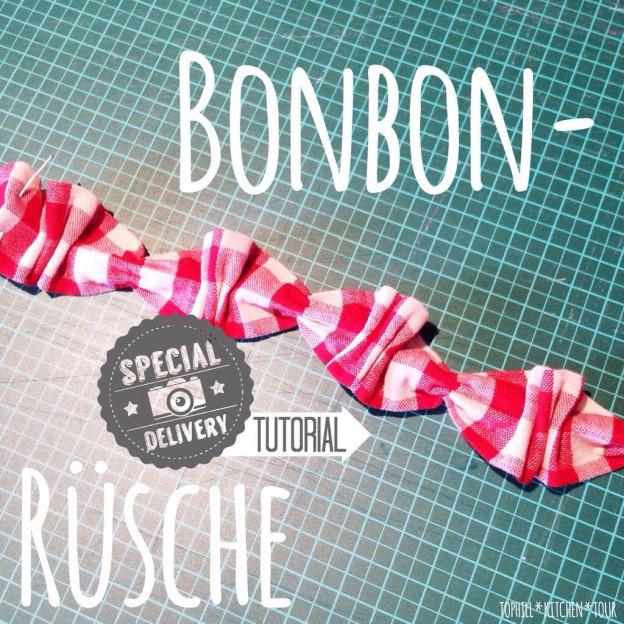 Bonbon-Rüsche