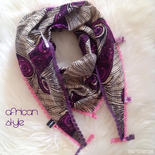 African Style Dreieckstuch