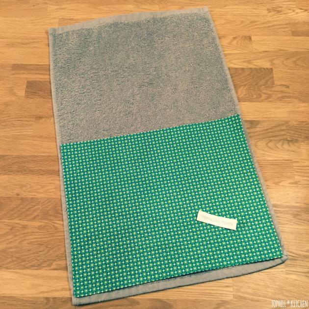 Muster für Handtuch nähen