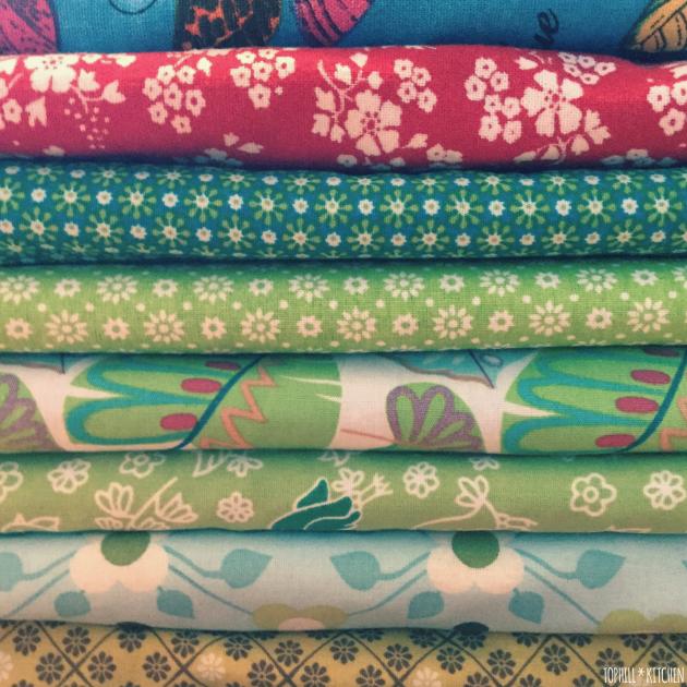 Benähte Handtücher in allen Farben