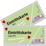 Habt ihr schon Karten für die Kissenparty 2015?