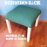 Schweden Hack {werbung} Tutorial | Hocker für rund 15 Euro